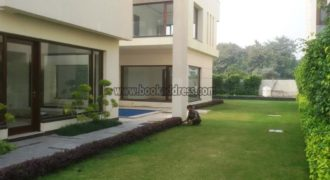 3 BHK+Study Semi Furnished Farmhouse Radhey Mohan Drive – Rent
