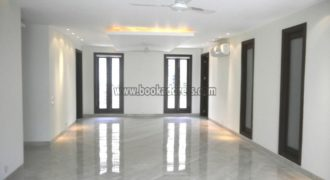 Defence Colony 3 BHK Semi Furnished Apartment/Flat for Rent/Lease