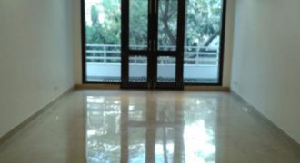 3 BHK Study Semi Furnished Apartment/Flat Defence Colony for Rent/Lease