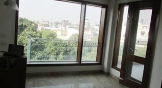 Defence Colony 3 Bedroom with Terrace Unfurnished Apartment/Flat for Rent/Lease