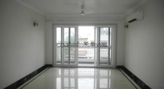 Rent/Lease 3 BHK Semi Furnished Apartment/Flat Defence Colony