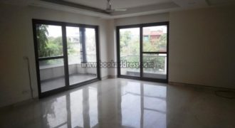 Semi Furnished Defence Colony 3 Bedroom Apartment/Flat for Rent/Lease