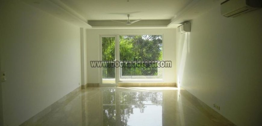 Semi Furnished 4 BHK Apartment/Flat Defence Colony for Rent/Lease