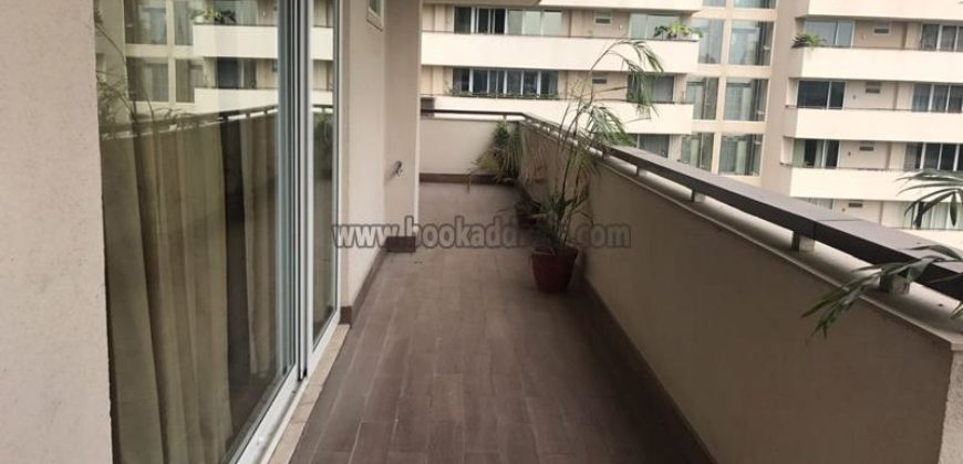 5 BHK Furnished Apartment/Flat Salcon The Verandas Gurugram Golf Course Road for Rent/Lease