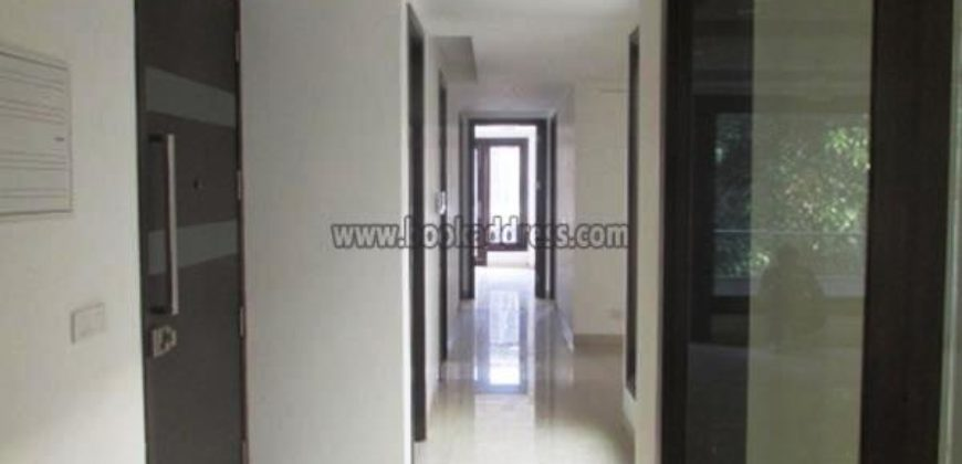 South Delhi Vasant Vihar 3 BHK Semi Furnished Apartment/Flat for Rent/Lease