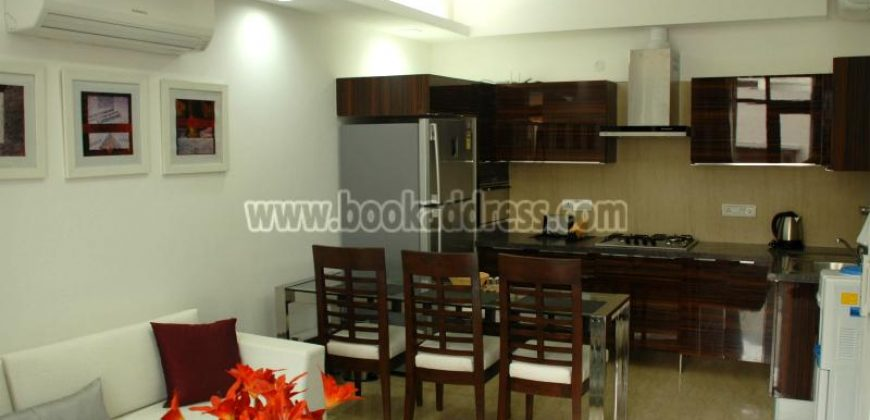 1 BHK Service Apartment/Flat Saket for Rent/Lease