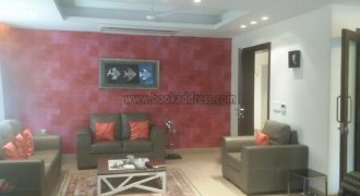 Furnished 3 BHK Apartment Shanti Niketan Rent and Lease